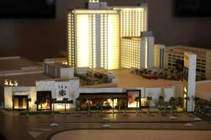 A model of the new SLS Las Vegas
